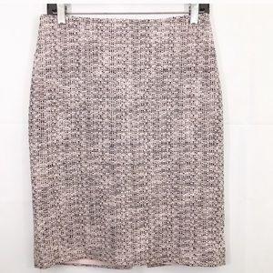 Karl Lagerfeld Paris pink and black skirt
